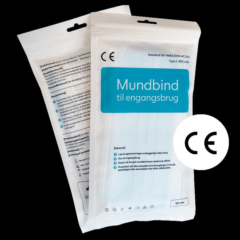 Mundbind type II 10 stk
