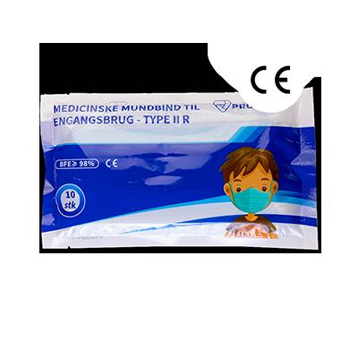Mundbind Type IIR til børn - 10 stk